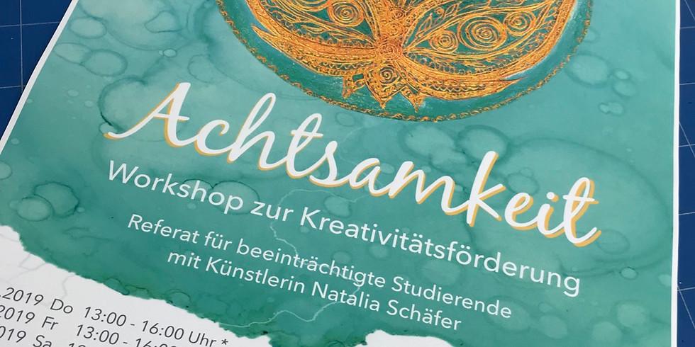 """""""Achtsamkeit"""" Workshop zur Kreativitätsförderung"""