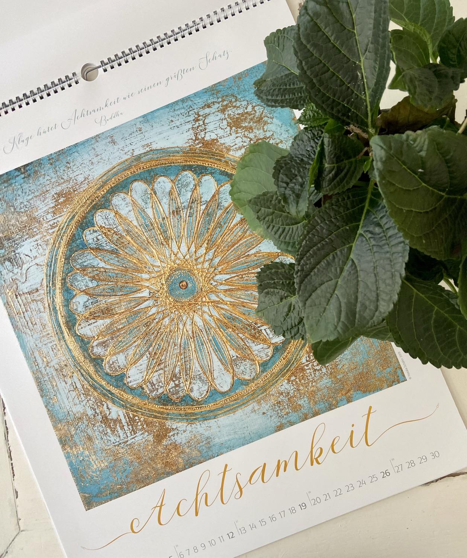 Thumbnail: Achtsamkeit ∞ Mindfulness ∞Artkalender 2021
