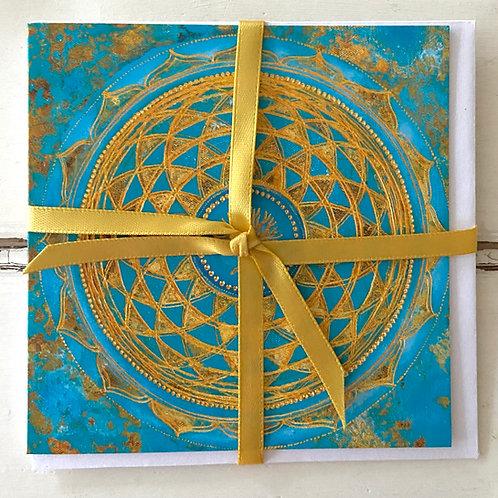 Mindfulness 2021- greeting card  - Glückwunschkarteindfulness 2022