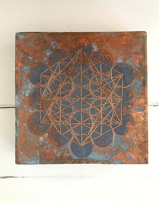 Metatrons Cube I Copper