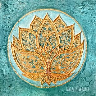 Lotus, Spiritual, Yoga, Natalia Schäfer, Nataias Art, Artwork, Calendar
