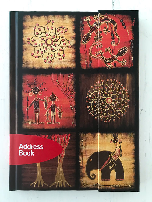 AfricanArt Mosaik III ∞ Premium Address Book Big