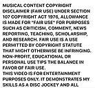 musicak copy rights contents