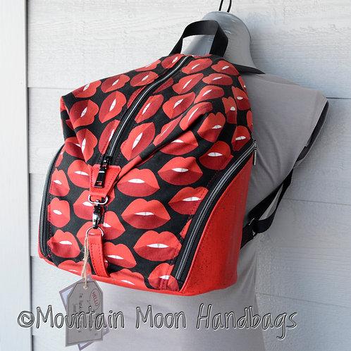 Red Cork Kissable Large Denver Backpack
