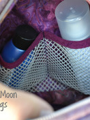 Olive Vanity Bag interior
