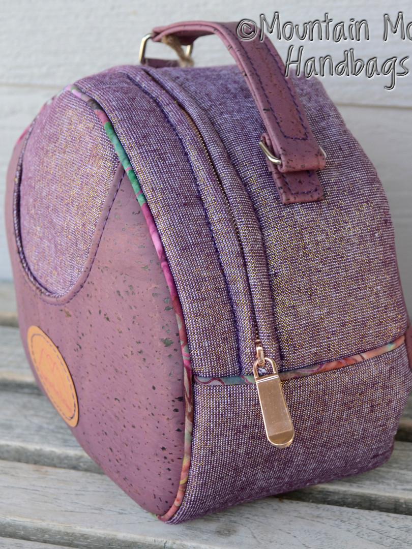 Olive Vanity Bag side