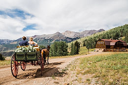 bride and groom riding away in wagon.jpg
