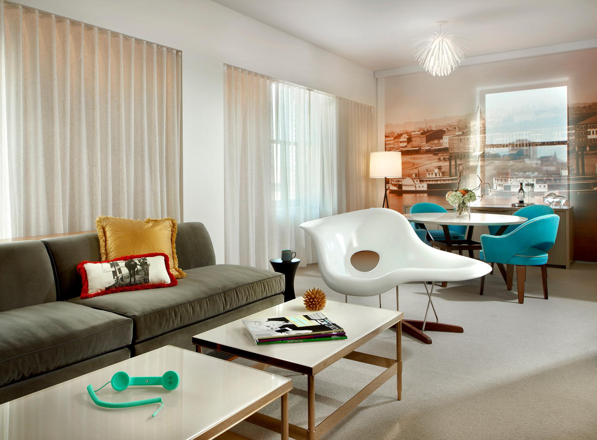 21c Cincinnati - Guest Room