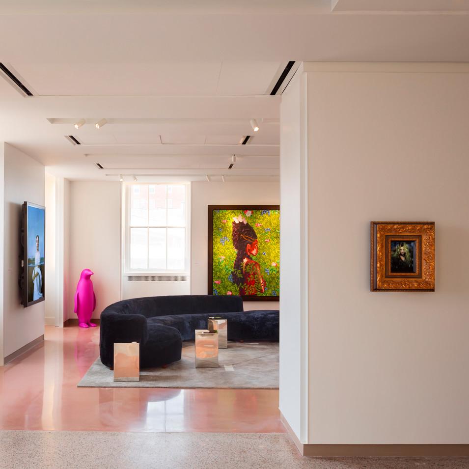 21c Durham - Lobby Gallery