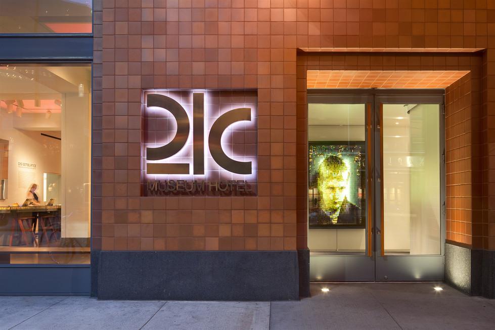 21c Cincinnati - Main Entrance