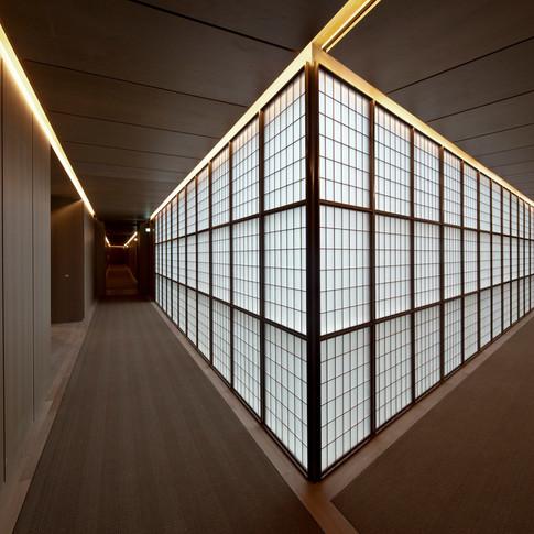 Hotel Cafe Royal - Guest Floor Corridor
