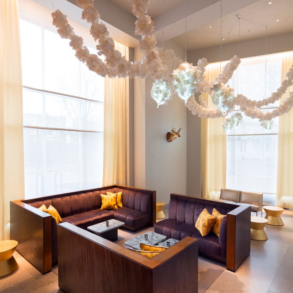 21c Durham - Bar Lounge
