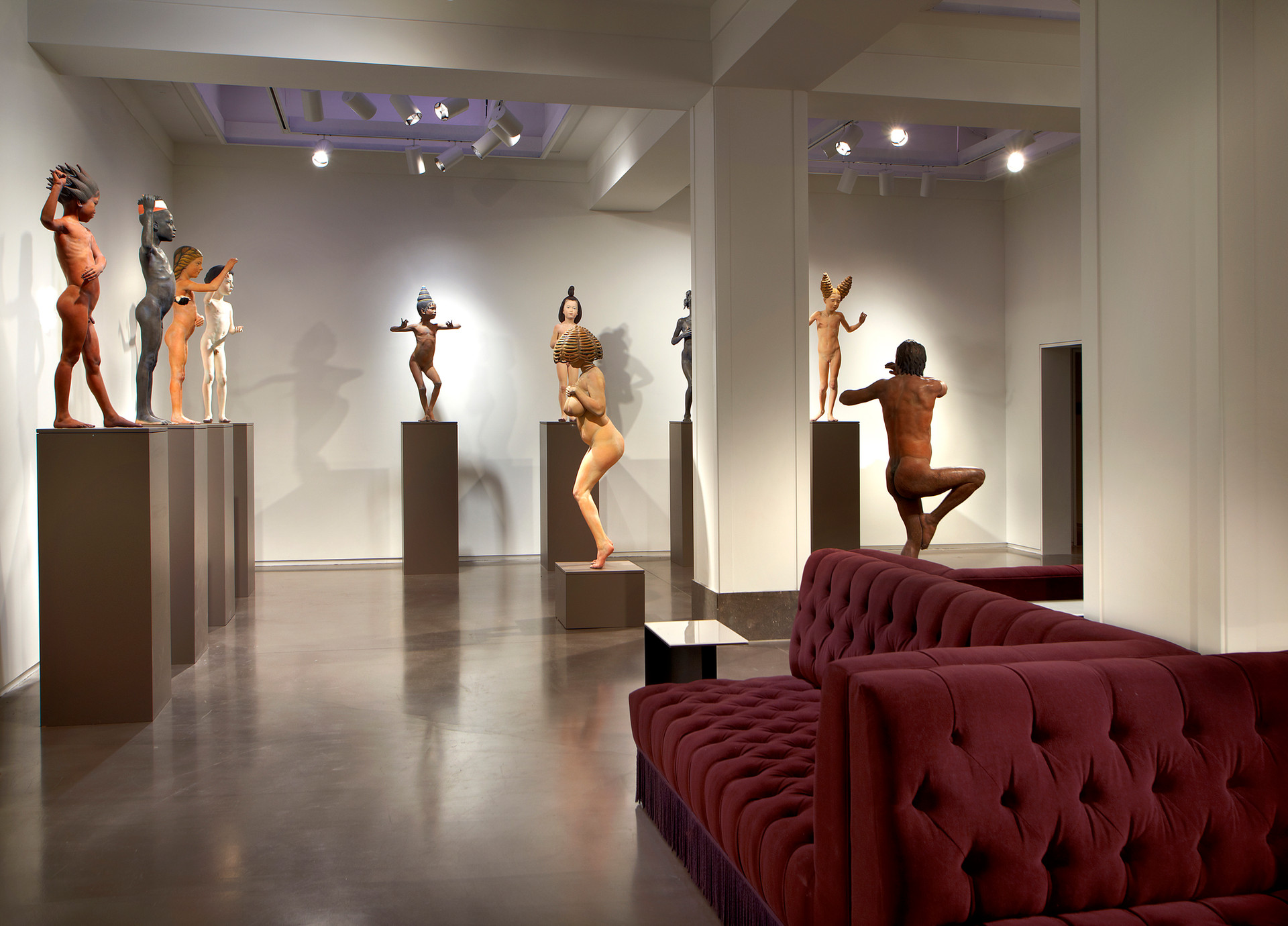 21c Cincinnati - Lobby Gallery