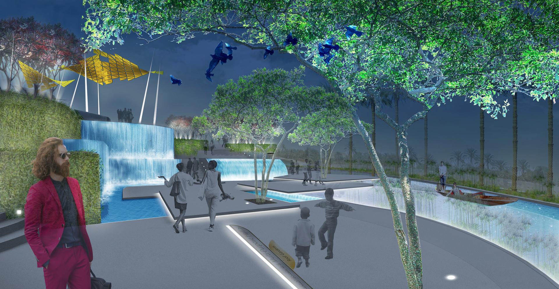 Stone Street - Water Plaza