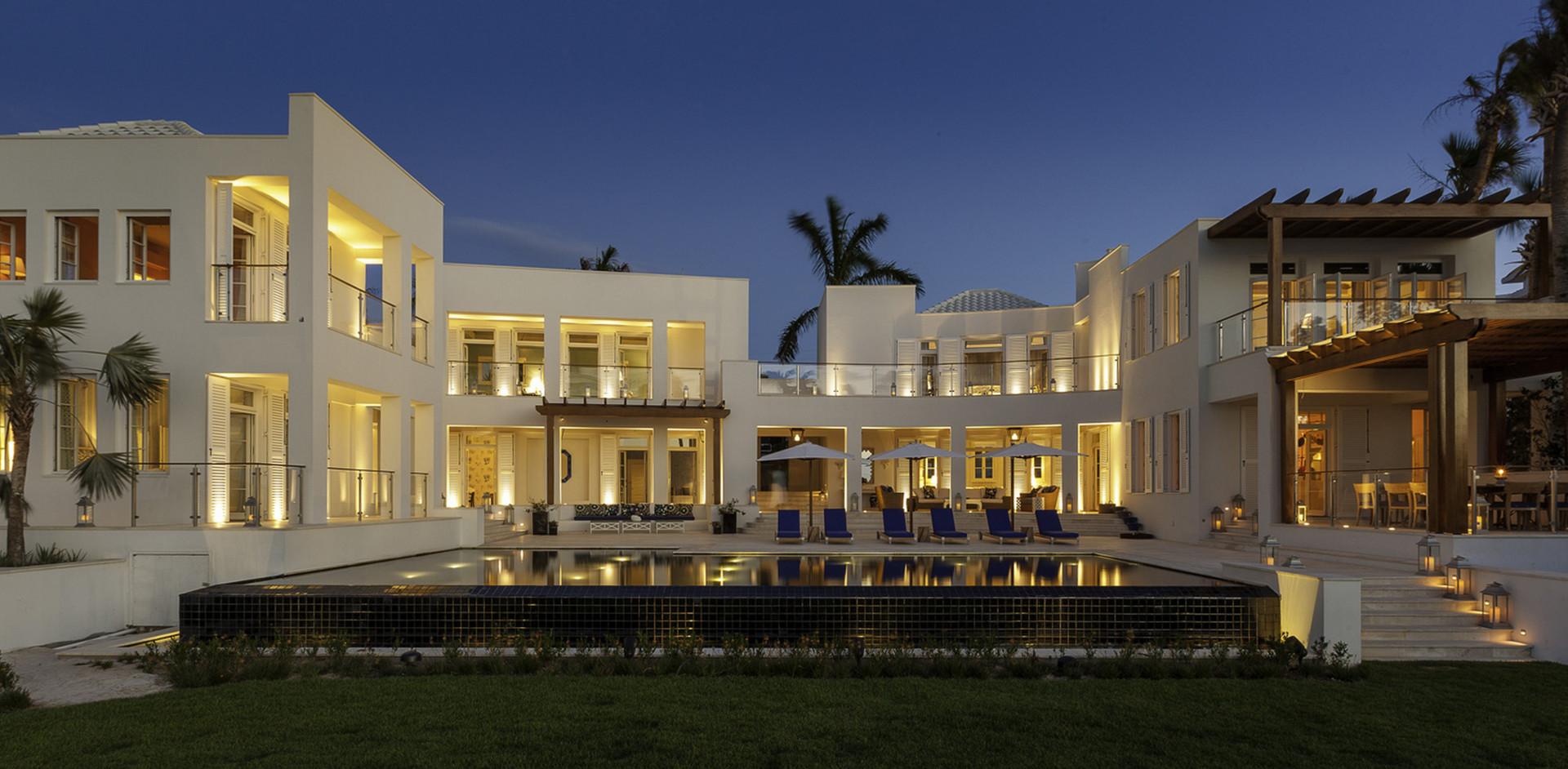 Cerulean Villa - Rear Facade