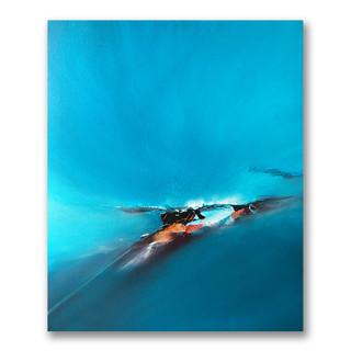 Peinture acrylique sur toile 60x50cm Disponible