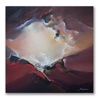 Peinture acrylique sur toile 50x50cm Disponible