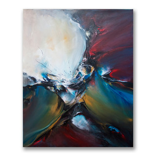 Peinture acrylique sur toile 100x80cm *