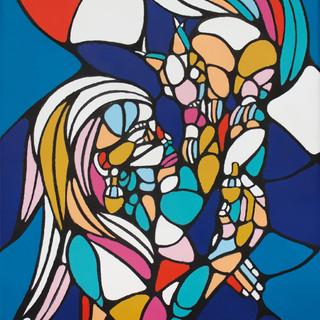 Peinture acrylique sur toile 24x30cm Vendu