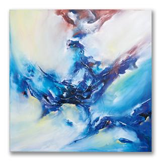 Peinture acrylique sur toile 80x80cm *