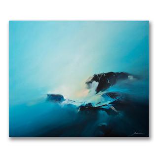 Peinture acrylique sur toile 50x60cm *