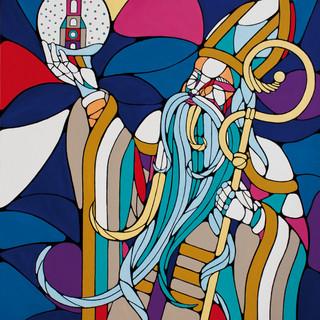 Peinture acrylique sur toile 100x120cm Vendu