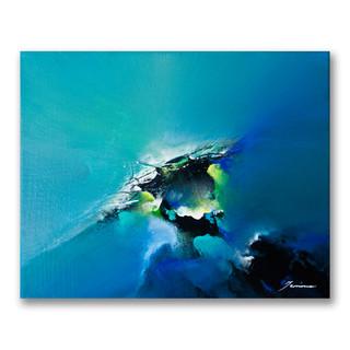 Peinture acrylique sur toile 24x30cm *