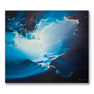 Peinture acrylique sur toile 120x140cm  *