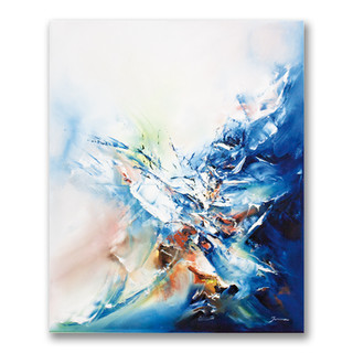 Peinture à l'huile sur toile 60x50cm *