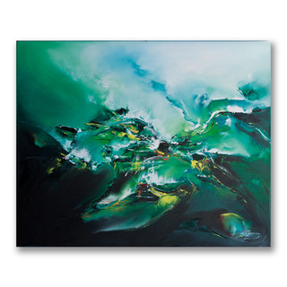 Peinture à l'huile sur toile 50x60cm *