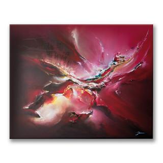 Peinture à l'huile sur toile 40x50cm *