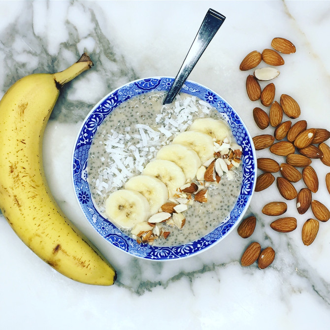 Recipe: Banana Chia Pudding