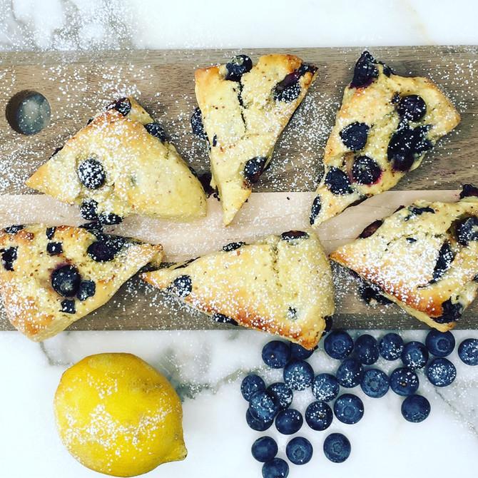 Recipe: Blueberry Scones