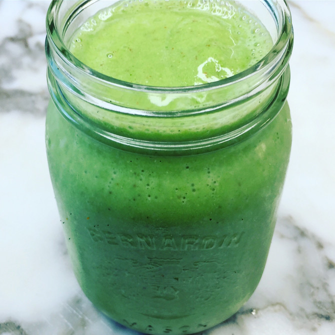 Recipe: Spinach Smoothie plus Spinach Ice Pops!