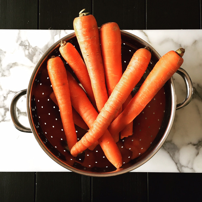 Recipe: Harvest Carrot Soup and New Year thoughts