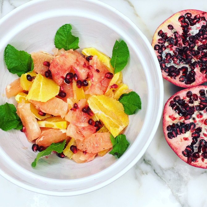 Recipe: Grapefruit Citrus Salad