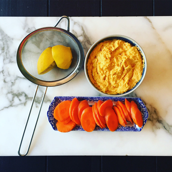 Recipe: Carrot Hummus...no really