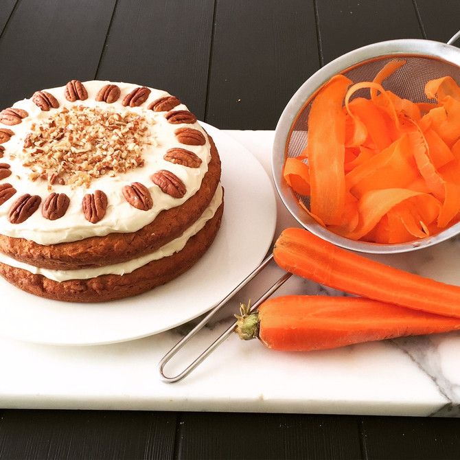 Recipe: Rustic Carrot Cake...thanks to Martha Stewart