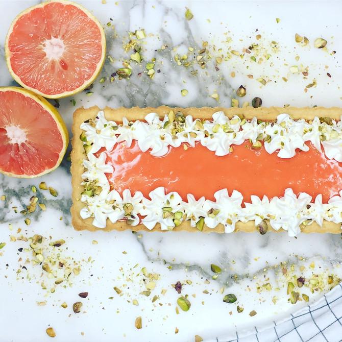 Recipe: Grapefruit Tart
