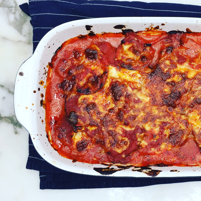 Recipe: Eggplant Parmigiana
