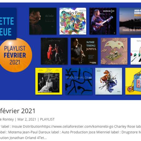 Charley Rose Trio dans la Playlist de la Gazette Bleue