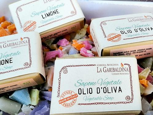 3 Sapone Naturale 100% Vegetale - Olio d'Oliva