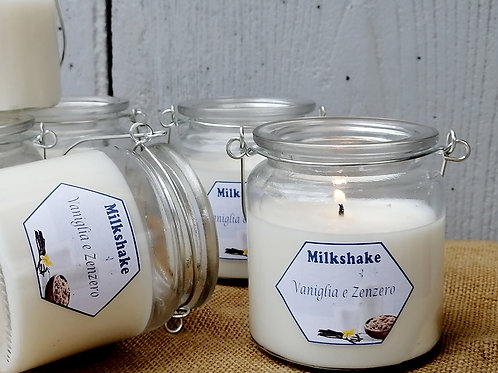 Candele Milkshake in vasetto