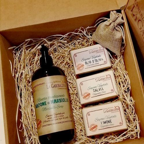 Gift Box - Confezione regalo Saponi naturali