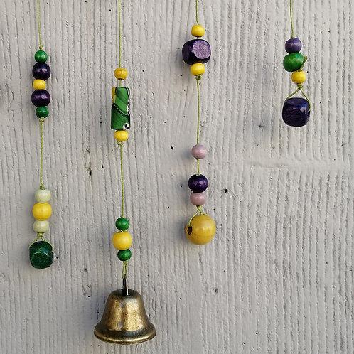 Campanelli decorativi in ottone