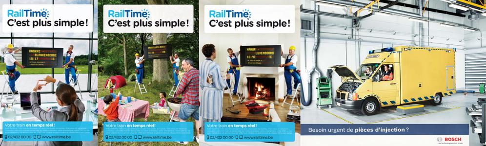 Infrabel RailTime / Bosch