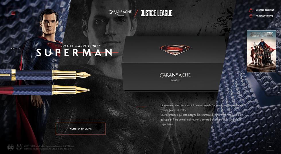 Caran D'Ache Justice League