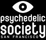 SF Psychedelic Society Logo - Black BG -