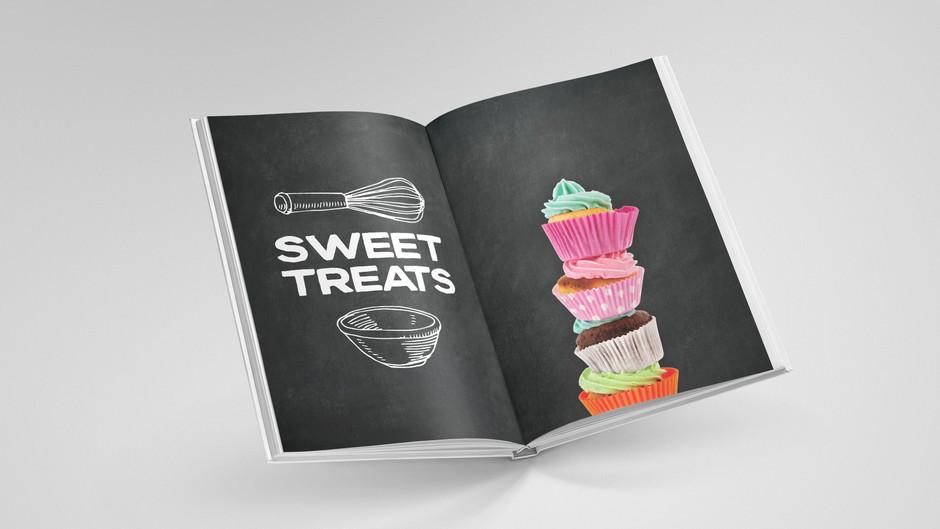 How an employee contributed cookbook got fancy!