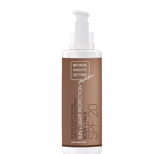 Sun + light protection SPF20 200 ml